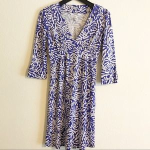 Diane von Furstenburg 100% Silk Dress